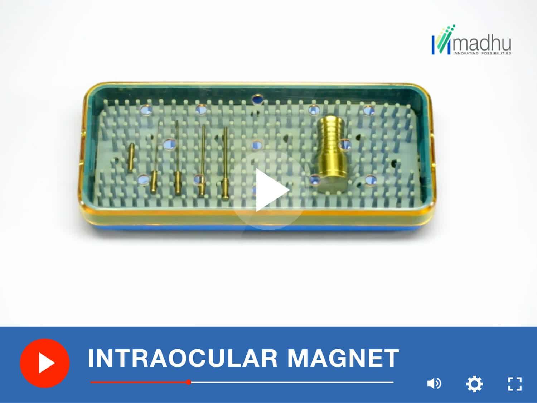 INTRAOCULAR MAGNET