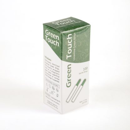 Green Touch Diagnostic Strips
