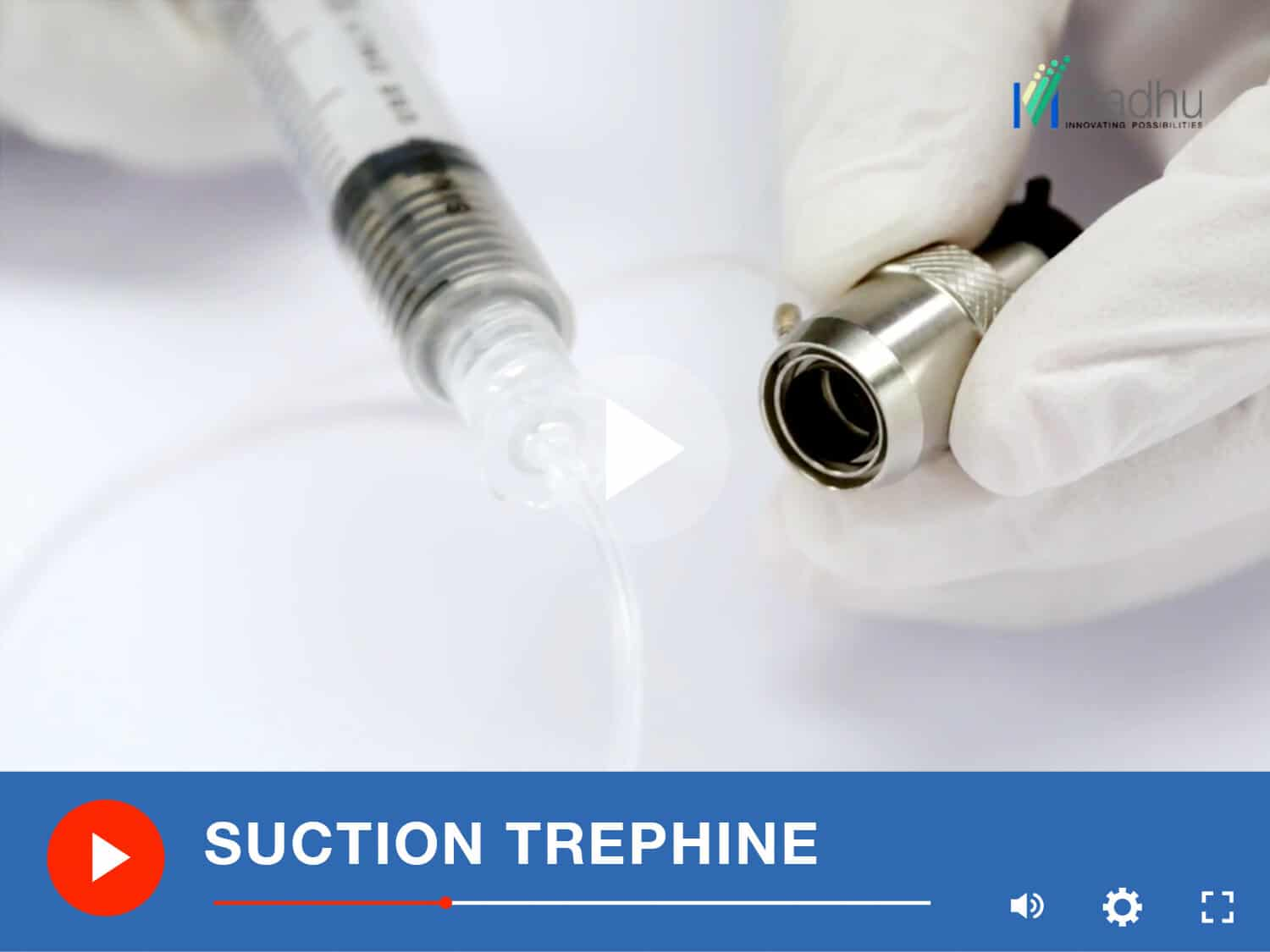 SUCTION TREPHINE