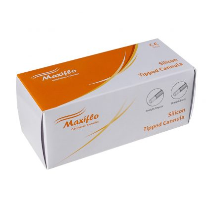 Silicon Tip Cannula Box Packing
