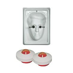 Phaco Practice Eye Fixation Head